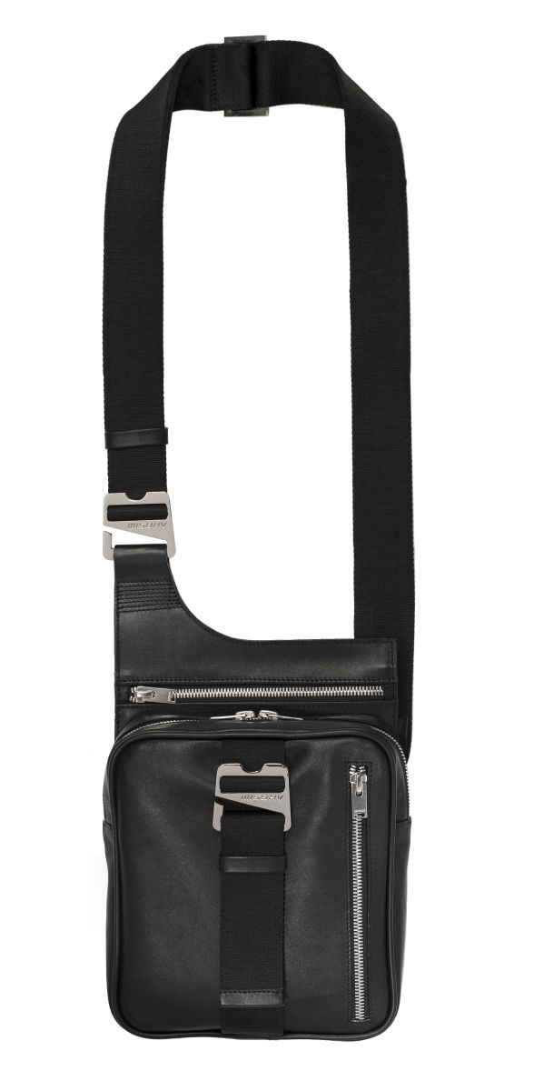 Logo Crossbody Black