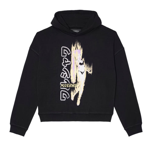 On Fire Hoodie Black