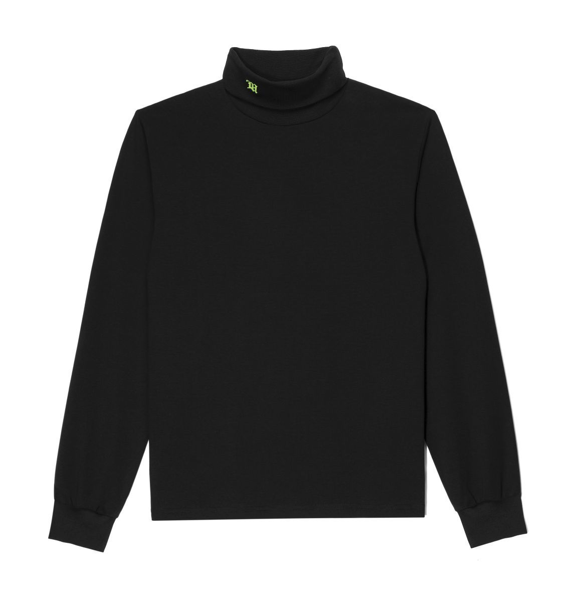 Logo Turtleneck Black