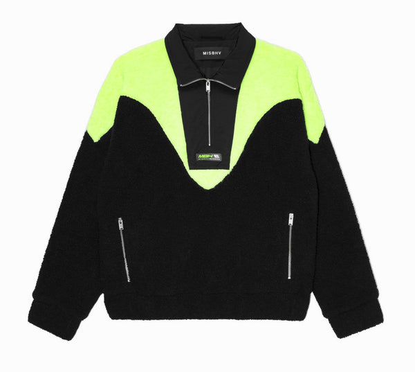 EUROPA Fleece Half-Zip Black