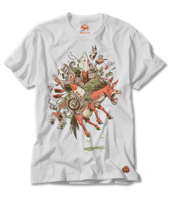 Jumping Jack (Artist Edition) Tee in White