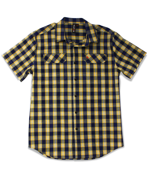 Jive Shirt in Navy Gingham