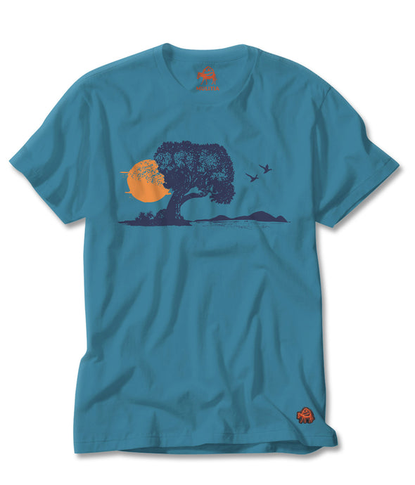Great Lake Tee in Blue