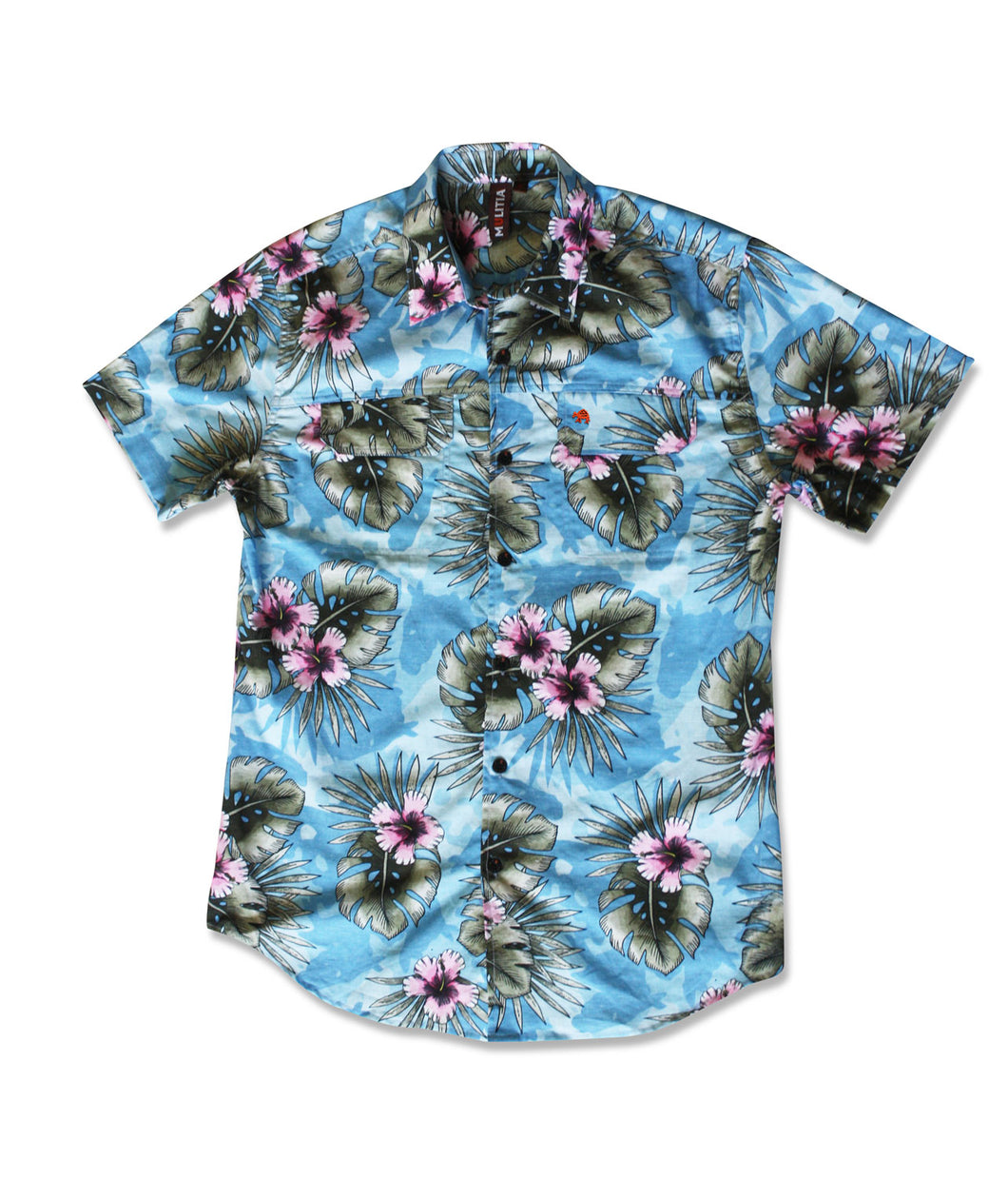 Jive Shirt in Sky Oasis Print