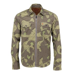 Shacket in Olive Trail Camo