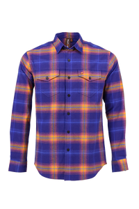 Vibe Flannel Shirt in Faded Navy