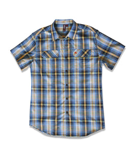 Jive Shirt in Blue Plaid