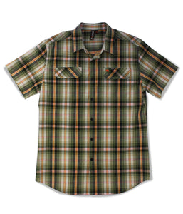 Jive Shirt in Olive Plaid