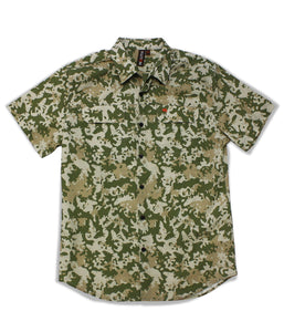 Jive Shirt in Khaki Mirage Camo