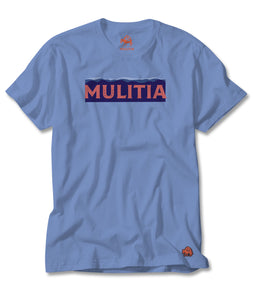 Mountain Type Tee - Blue