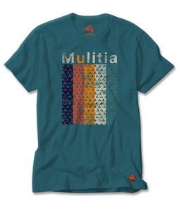 Rainbow Falls Tee in Teal