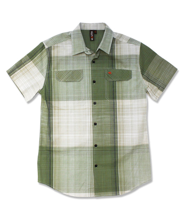 Jive Shirt in Olive Super Gingham