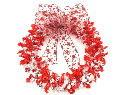 Candy Wreath - Valentine's Day