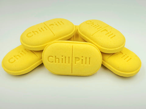 Lemon Merigue Pie Chill Pill Bath Bomb
