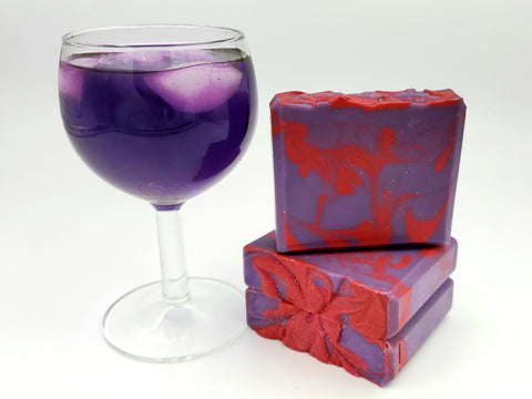 Purple Shooters Soap
