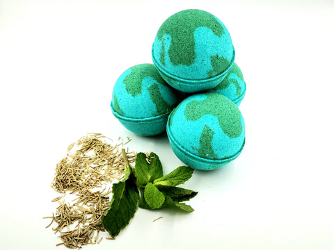 Rosemary Mint Bath Bomb