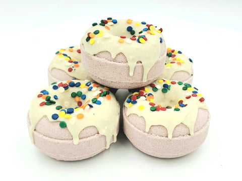 Snickerdoodle Donut Bath Bombs