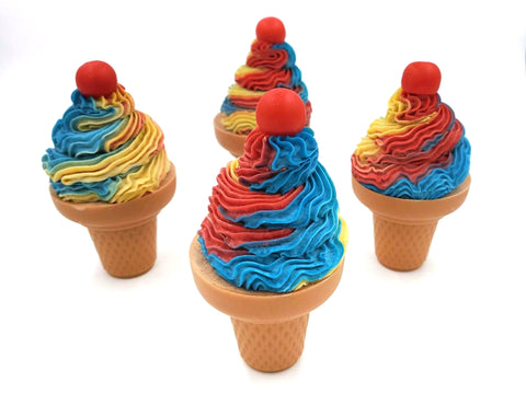 Carnival Craze Ice Cream Cone Soap