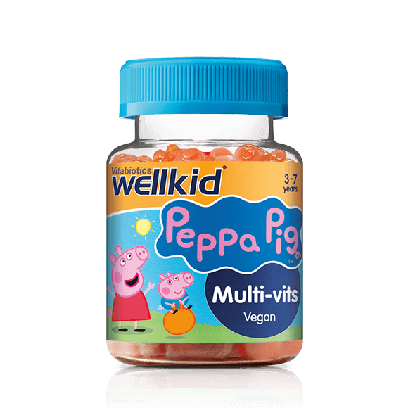Wellkid Peppa Pig Multi-vits