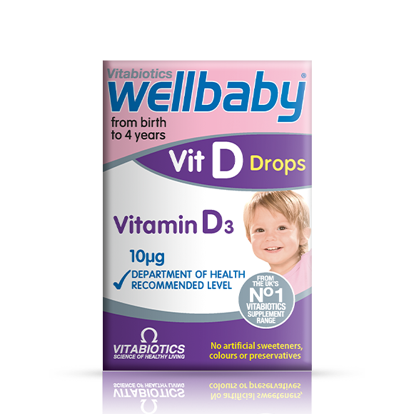 Wellbaby Vitamin D Drops