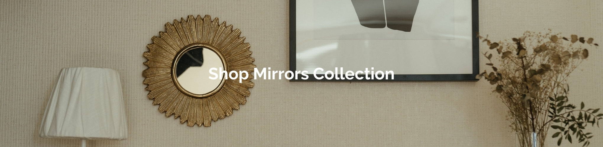 Mirrors Collection from Estilo Living - Buy Mirrors for small spaces and homes Online Now!