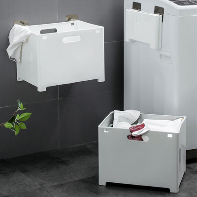 Florence Foldable Wall Mounted Laundry Hamper | Laundry Baskets | Laundry Storage | Wall Storage | Estilo Living