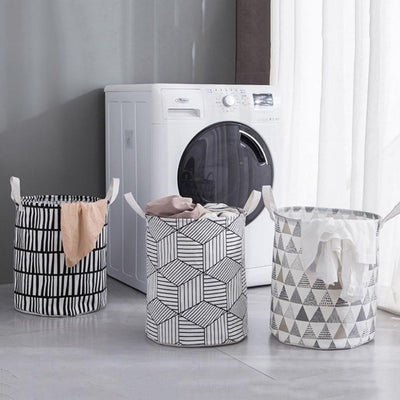 Waterproof Foldable Clothing Storage Baskets | Laundry Hampers | Laundry Storage | Cloth Hampers | Estilo LIving
