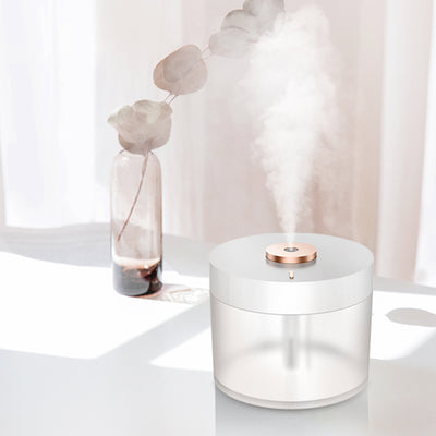 Pearlescent Portable Air Humidifier & Purifier with LED Light 780ml | Diffuser | Humidifiers | Stylish Diffusers for Home | Humidifiers for Home | Estilo Living