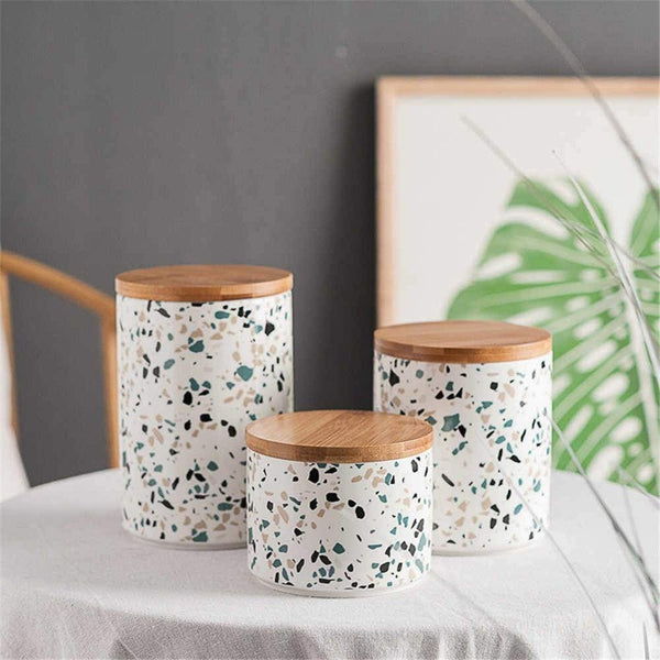Terrazzo Storage Jars Collection