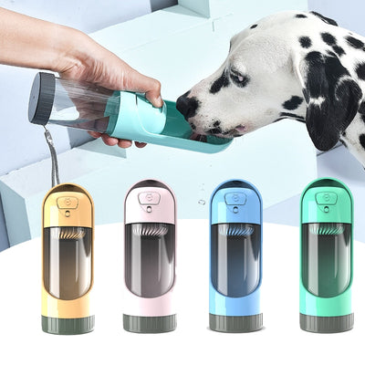 Portable Dog Water Bottle with Filter | Pet Water Bottle | Filtered Water for Dogs | Dog Travel Water Bottle | Estilo Living