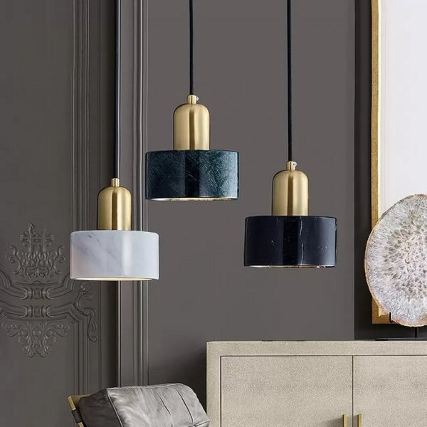 Marble Shades Pendant Collection-Pendant Light for The Living Room -Estilo Living