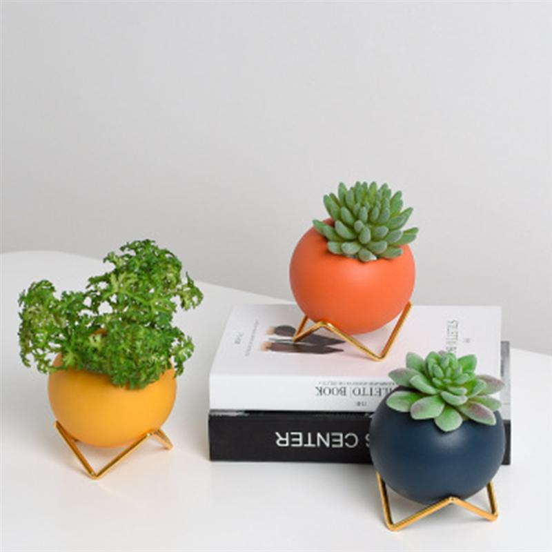 Abstract Colors Flower Pots Home Decor Collection-Estilo Living