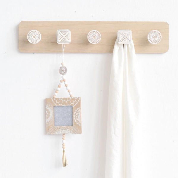 Alva Wooden Hook Rack-Storage-Wall Hooks Decorative-Estilo Living
