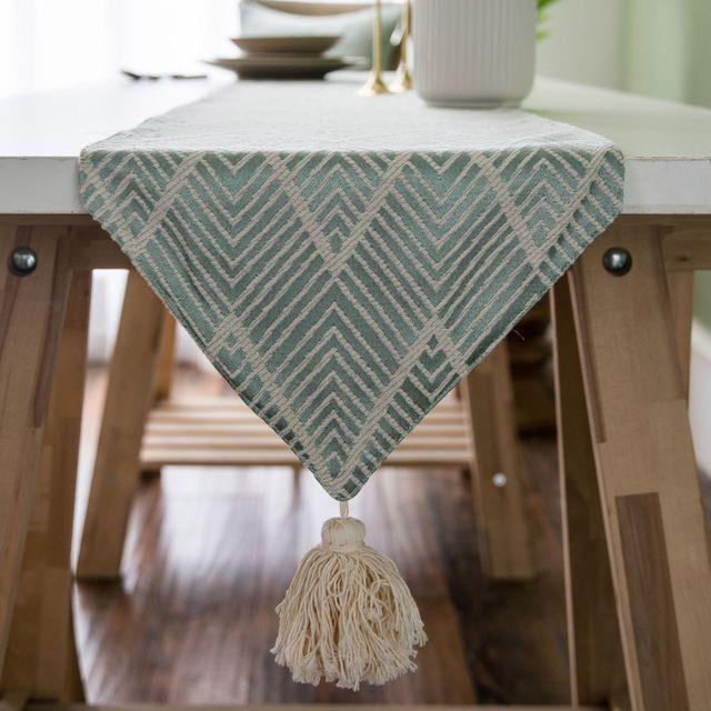 Aztec Fern Table Runner-Kitchen-Estilo Living-Green-45x45cm pillowcase-Estilo Living