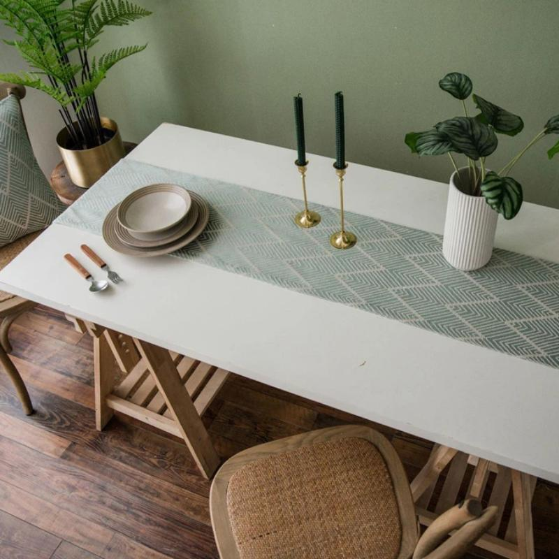 Aztec Fern Table Runner-Kitchen-Estilo Living-Estilo Living