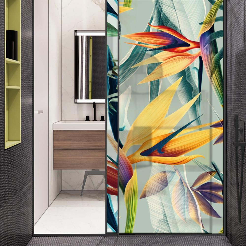 Birds Of Paradise Designer Glass Decal-Designer Decal-Wallpaper for Living Room-Estilo Living