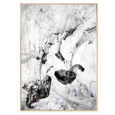 Dynamic Abstract Black-Ink Canvas Print Collection-Wall Art on Canvas-Estilo Living