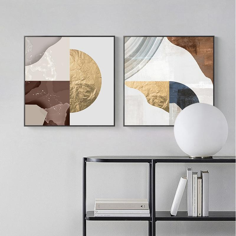Earth Tones Wall Art Collection-Wall Art-Estilo Living-Estilo Living