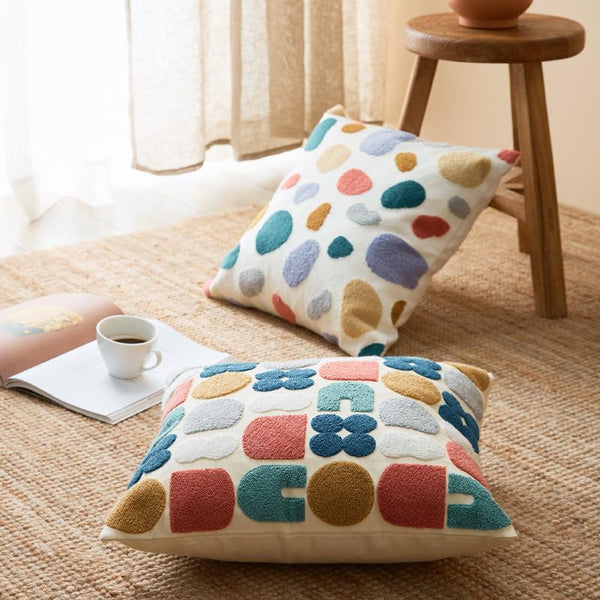 Expressive Shapes Cushion Cover Collection-Bed Cover Sets Collection-Estilo Living