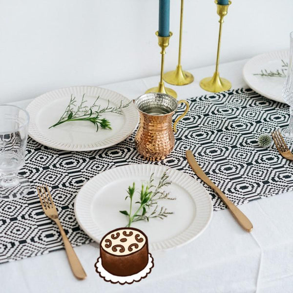 Geometric Sky Table Runner-Kitchen-Table Linen on Sale Collection-Estilo Living