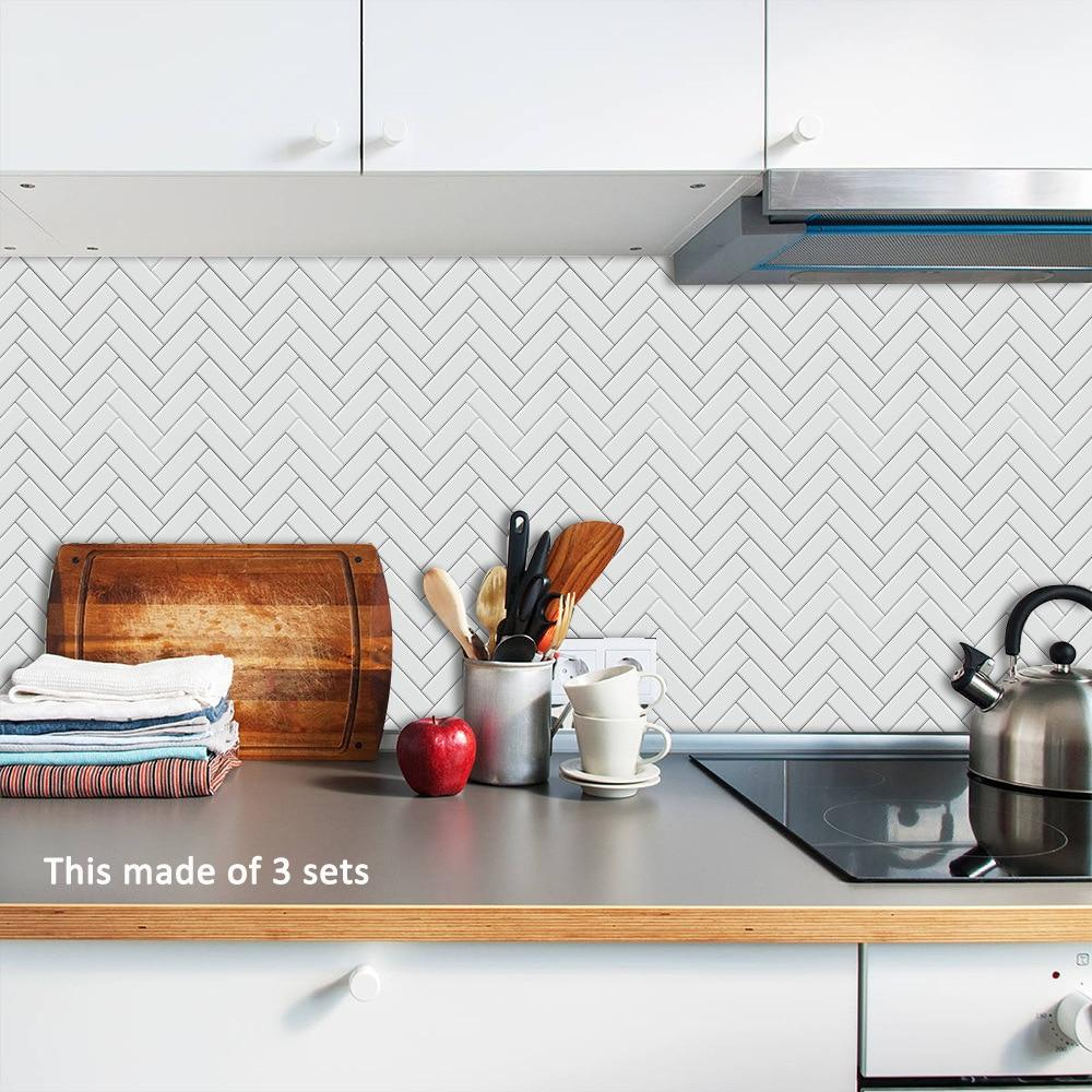 Herringbone Tile Decals-Decals for Glass-Estilo Living