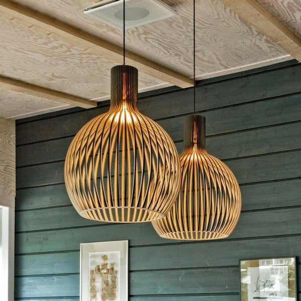 Iron Cage Pendant Lights-Pendant Lights for the Bedroom-Estilo Living