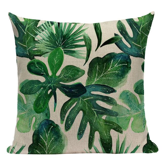 Jungle Palms Cushion Collection-Cushions-Estilo Living-K-45cm x 45cm-Estilo Living
