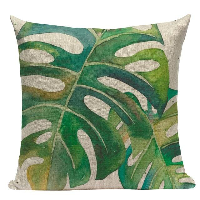 Jungle Palms Cushion Collection-Cushions-Estilo Living-L-45cm x 45cm-Estilo Living