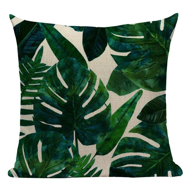 Jungle Palms Cushion Collection-Cushions-Estilo Living-N-45cm x 45cm-Estilo Living