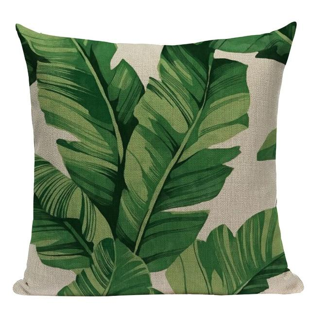 Jungle Palms Cushion Collection-Cushions-Estilo Living-O-45cm x 45cm-Estilo Living