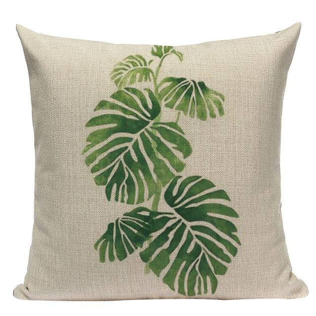 Jungle Palms Cushion Collection-Cushions-Estilo Living-V-45cm x 45cm-Estilo Living