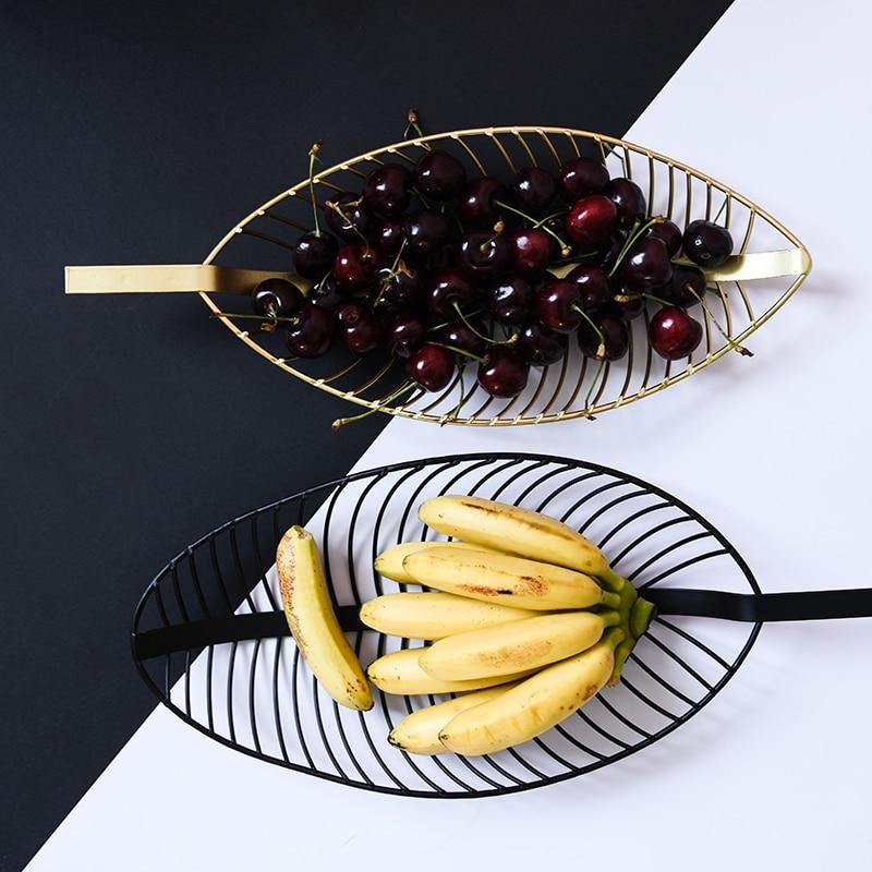 Leaf Fruit Tray Collection-Home Decor Collection-Estilo Living