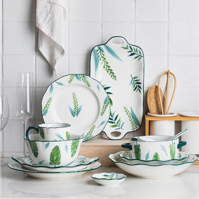 Leafy Way Dinnerware Collection-Eating Utensils Collection-Estilo Living