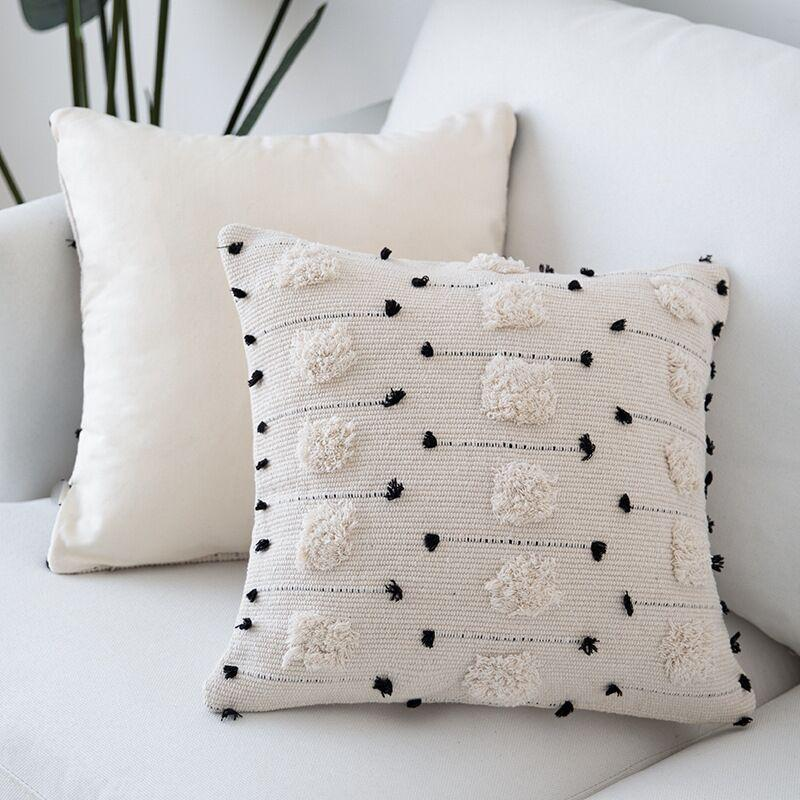 Maya Embroidered Cushion Collection-Cushions-Estilo Living-45x45cm-Estilo Living